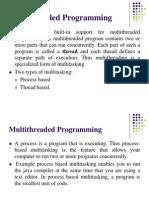 MultiThreading and Synchronization