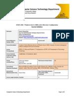 Fall 2014 ITMT 2302 Windows Server 2008 Active Directory Configuration-Syllabus