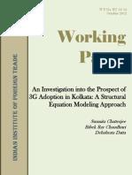 3G Adoption Model