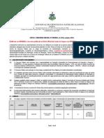 Edital Concurso Uncisal 003.2014 - Cargos de Nível Médio - Retificado Em 29.10.2014