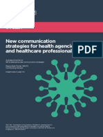 New communication strategies for health agencies and healthcare professionals