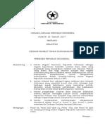 UU Kelautan No. 32 Tahun 2014