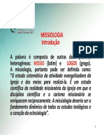 apostila missiologia