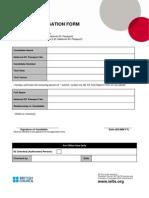Ielts Authorisation Form