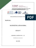 Manual Matemática Financiera UNMSM