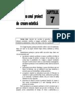 Capitolul 7. Derularea Unui Proiect de Creare Estetica