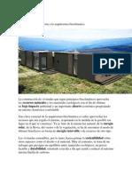 Casas Sostenibles Gracias a La Arquitectura Bioclimatica