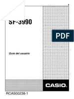 SF_3990_ES Manual Casio 32kb Digital Diary Sf 4100