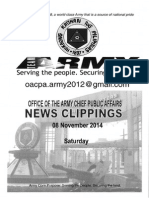 08 Nov 14 News Clippings