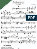 Schubert_Duo in a Minor_Bream