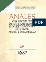Anales 25 del Instituto de Arte Americano