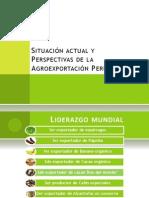 Situación actual y Perspectivas de la Agroexportación Peruana