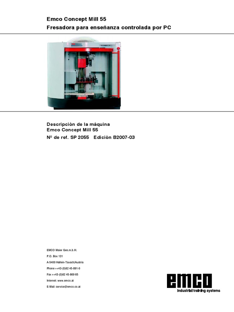 1510036813 fresadora didactica pdf Emco Mill Motor Wiring Diagram at creativeand.co