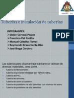 Presentación Instalacion de Tuberias