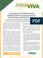 MP Combate Fraudes Em Faturas de Energia Elétrica