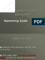 Error Correction and Detection