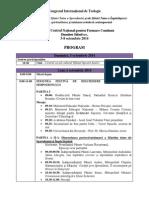 Program Congres International 2014