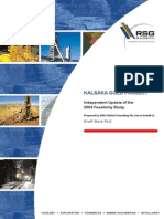 Kalsaka Feasibility Study - 2006 Update