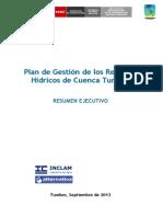 Resumen Ejecutivo PGRHC Tumbes