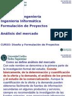 Sesion 6 Analisis Del Mercado, Evaluaciu00F3n de Proyectos