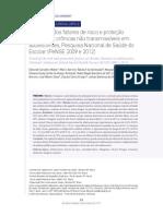 Tendência Dos Fatores de Risco e Proteção de Doenças Crônicas Não Transmissíveis Em Adolescentes, Pesquisa Nacional de Saúde Do Escolar (PeNSE 2009 e 2012)