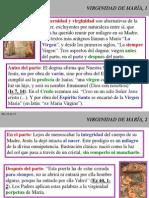 Mariologia 03 Virginidad de María