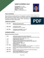 HugoGutiérrez CV