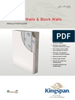 Kingspan Insulation Concrete Wall Application