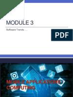 Module 3_Software Trends
