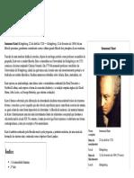 Immanuel Kant - Biografia Wikipédia