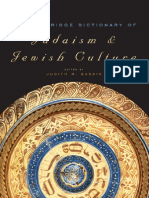 The Cambridge Dictionary of Judaism and Jewish Culture