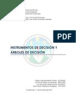 Instrumentos de Decisión Árboles de Decisión (1)