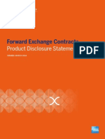 Forward Exchange Contract PDS - AUS