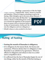 Fasting Chapter c