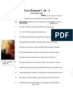 1 Ecce Ch. 1 Worksheet
