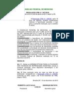 Reprodução Assistida-conselho Federal de Medicina
