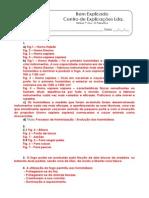 A.1.1 - Ficha de Trabalho - As Primeiras Sociedades Recolectoras (2) - Soluções