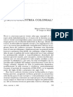 Protoindustrial Colonial