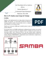 Practica 7 Samba Como Grupo de Trabajo