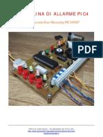 Burglar Alarm Microcontroller - Centrale Antifurto (Service Manual)