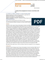 A Clinical Comparative Study of the Management of Chronic Renal Failure With Punarnavadi Gokshura Etc Compound