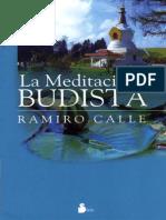 La Meditacion Budista - Ramiro Calle.epub