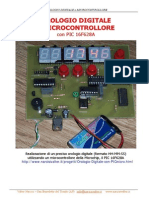 Digital Clock with PIC Micro - Orologio Digitale (Service Manual)