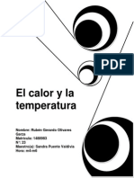 El Calor y La Temperatura5 de Abril