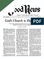 Good News 1957 (Vol VI No 07) Jul