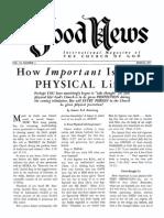 Good News 1957 (Vol VI No 03) Mar