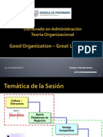 Sesión 1 - Good Organization - Great Leadearship (11-10-14).pptx