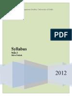 Syllabus 2 AMPDE