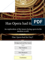 Opera Has Had Its Day PDF