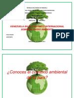 Venezuela y El Contexto Ambiental